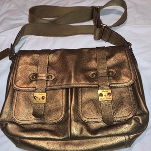 Ralph Lauren Governor's Shoulder Messenger Bag